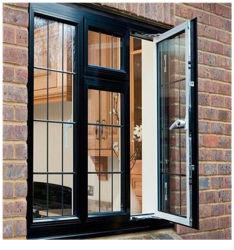 温室のための二重ガラスアルミニウム製の開き窓は工場価格と