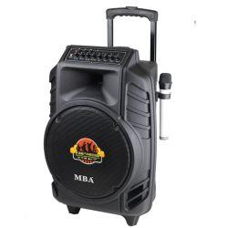 بطارية كبيرة ذات طاقة عالية مقاس 15 بوصة مزودة بسماعة تروللى للصوت عالي الصوت مع نظام صوت كاريوكي Party وBluetooth® لاسلكي