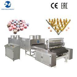 Práctica hace la máquina doble del color del caramelo duro Línea de Producción