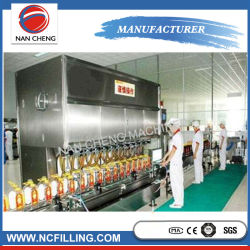 Geradeauslaufmaschine Rotary Small Olive Oil Filling Machine Automatic Vial Liquid Filling Machinery Production Line