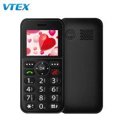 Última moda Mini Teléfono GSM Senior Home Sos gran teclado Mtk 2g 1,77cm característica básica de teléfono de T-Mobile