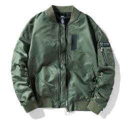 겨울 재킷은 인쇄 직업적인 OEM 재킷 Mens를 주문 설계한다