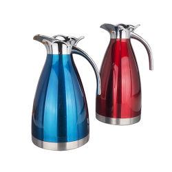 Groothandel RVS dubbelwandige vacuümkolven Kettle Tea Koffie Serving Pot, Warmtepreservering waterketel