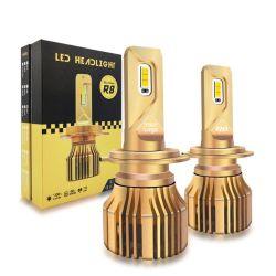 12V de alta potencia Kits de conversión de coche H4 H11 H1 9005 9006 LED LED H4 H7 Auto 110W 20000LM R8, faros LED