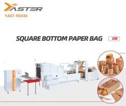 機械330を作る自動クラフト紙袋