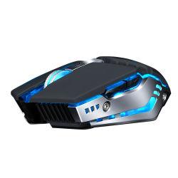 Tikken de Lichte Zwarte Spelen van de ademhaling Nieuw Product en de Draadloze Muis van PC USB 2.4G voor Bureau en Zaken in
