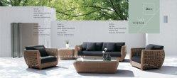 Viagem de vime sofá de tecido Futniture Exterior