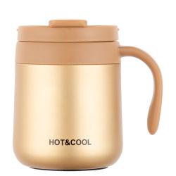 boccetta di vuoto dell'acciaio inossidabile 350/500ml, Thermos, tazza di caffè con la maniglia