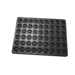 Rk Bakeware Hersteller China -Glasierte 54 Donut Antihaft Backblech 800*600 für Industriebäckereien