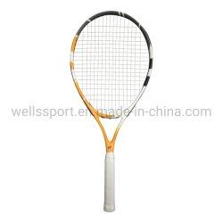 25 pulgadas de aluminio de raqueta de tenis& Carbono para el diseño de logotipo personalizado Junior vienen con una bolsa