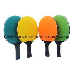 環境に優しく多彩なゴム製卓球の卓球のかいラケット