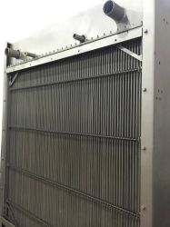 디젤 발전기용 알루미늄 핀 튜브 라디에이터