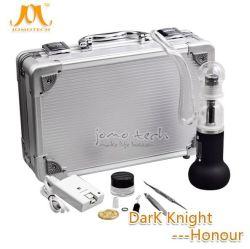 De gekke het Verwarmen van de Verkoop Ceramische Zelfreinigende Donkere Elektronische Sigaret van de Verstuiver van het Kruid van de Controle van de Temperaturen van de Eer van de Ridder 2600mAh Droge