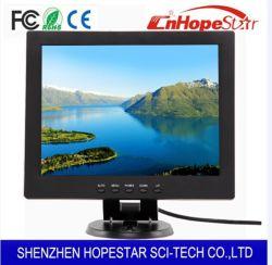 세륨 RoHS를 가진 좋은 품질 12 인치 TFT LCD LED 탁상용 컴퓨터 모니터 POS 모니터