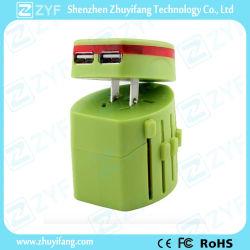 Universal chargeur USB multi-connecteur électrique de l'adaptateur de voyage (ZYF9010)