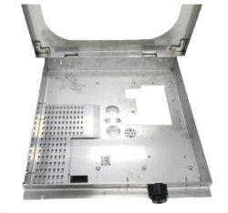 Châssis en aluminium en acier inoxydable personnalisé ou le boîtier pièces du produit de travail de soudage TIG et feuille de métal de l'armoire de fabrication de métal en rack