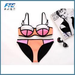 Heißer verkaufenfrauenbeachwear-Neopren-Bikini-Badeanzug