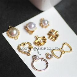 Zubehör-Armband-Halskette der Form-Entwurfrhinestone-Anhänger-Perlen-goldene DIY