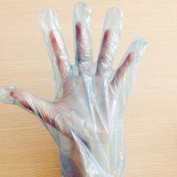 Экономичные рельефным Diposable перчатки/Mittens - сертифицированных ISO