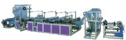 De automatische Vastbindende Lint Gerolde Zakken die van de Verwijdering Machine maken