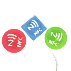 追跡のために使用される安い費用Anti-Counterfeit Ntag213/215/216 NFC RFIDのステッカー