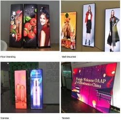 P2.5/P1.8屋内床の立場LEDスクリーン表示媒体のLED表示/LEDポスター/LEDミラーポスター