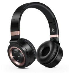 P6 Intone som fones de ouvido sem fio Bluetooth com microfone dos auscultadores 4.0 suporta cartão TF Rádio FM para MP3 Celulares Laptop