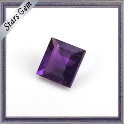 Violeta profundo corte brilhante pedra ametista Natural Cordão Gemstone