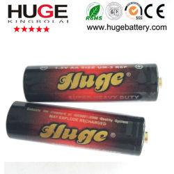 1.5V AAのサイズカーボン亜鉛電池R6