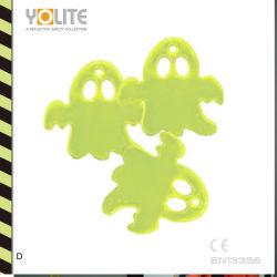Хэллоуин декор отражает Ghost-Shaped мягкий отражатель с предохранительным штифтом (YL-B005)
