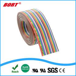 UL2468 30broche sur le fil Rainbow ruban plat couleur de câble IDC