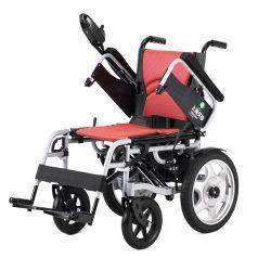Il Ce, ISO13485 ha approvato la sedia a rotelle elettrica dell'azionamento di rotella posteriore