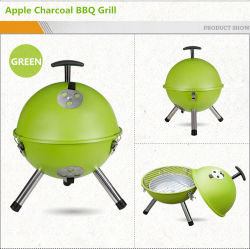 12''/14'' Fútbol Mini portátil de diseño de Apple el carbón de leña Barbacoa