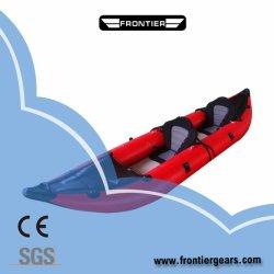 12FT 3,6 M Double personne Couleur personnalisée en PVC/Kayak gonflable Hapalon la pêche bateau de course
