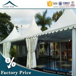Большие 10mx10м алюминиевая конструкция пагода Палатка для событий, Carpa