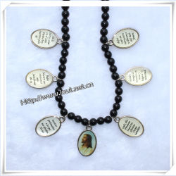 종교적인 플라스틱은 구슬로 장식한다 목걸이, 종교적인 목걸이 (IO cr166)를