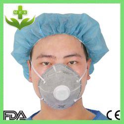 N95 masque anti-poussière de charbon actif avec valve