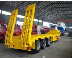 建設機械輸送用ローベッド半トレーラー 3 軸