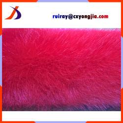 Raffreddare il tessuto fatto del collare di Fox dell'indumento della pelliccia di Fox dell'uomo colorato