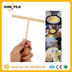 Китайской кухни креп Maker жидкое тесто деревянной разбрасыватель Memory Stick™ домашняя кухня инструмент DIY ресторан столовая специально расходные материалы