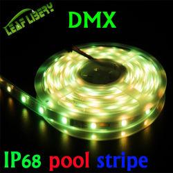 Lpd8806 Bande numérique, bande de LED RVB numériques résistant aux intempéries