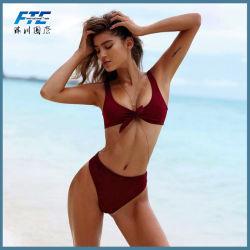 Bikini sexy delle donne del costume da bagno su ordinazione professionale dei fornitori