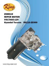 24Vヒュンダイチューソン、OE 98110-2e110のOEMの品質、工場価格のための前部ワイパーモーター