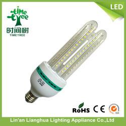 Luz branca quente E27 85-265V 23W 24W 25W 4u milho LED