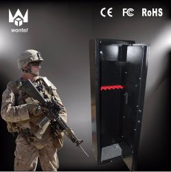 オフィスのためのデジタルロックおよびライフルおよびピストルのための取り外し可能な棚および安全ロックが付いているホーム銃のキャビネットが付いている金属銃の安全なボックス