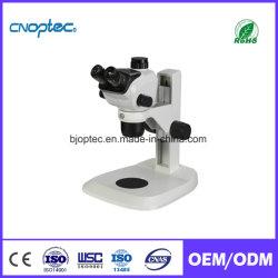 De StereoMicroscoop van Trinocular met Licht voor Optisch Lens & Instrument