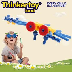 Kind-Leben-Spiel-gesetzte beste pädagogische Spielwaren-magnetische Block-Spielwaren