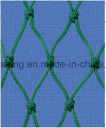 Polietileno PE Comercial trançada de pontos nodados ou formados por rede de pesca verde