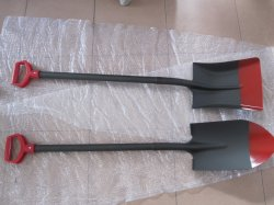 S519 S518 con One-Piece Pala pala con mango de acero