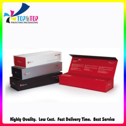 Le design de mode d'impression de l'emballage en carton de luxe Hair Straightener boîte cadeau avec fermeture magnétique